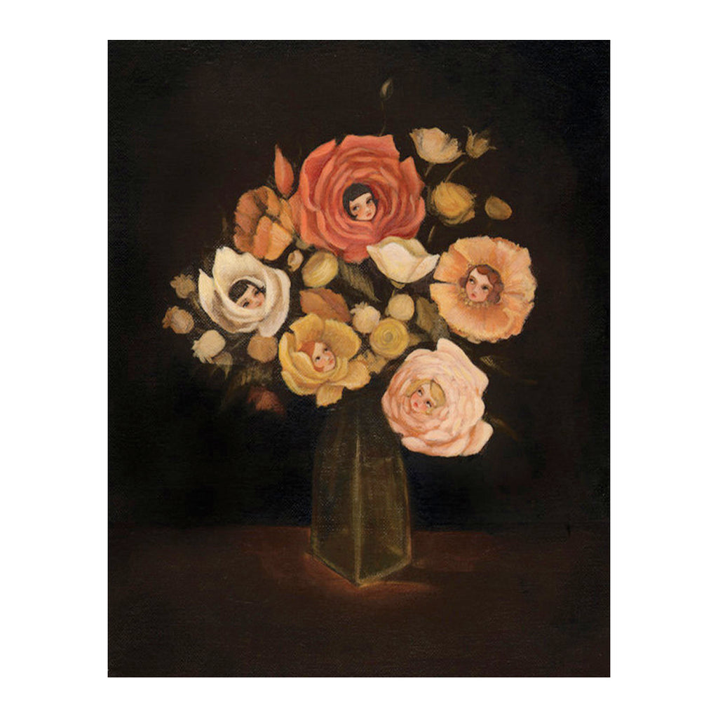 Emily Martin - Still Life with Flowers Print