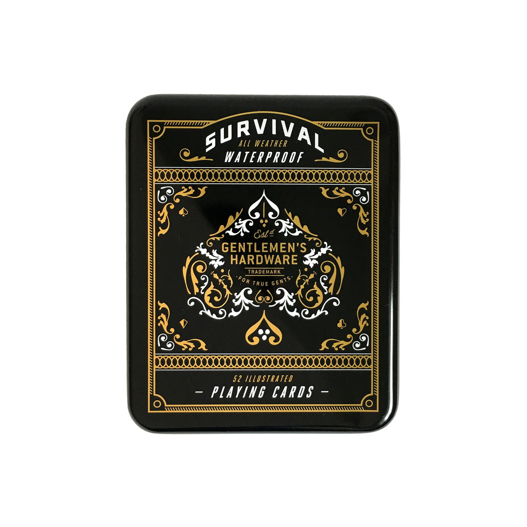 Playing Cards - Survival Tin