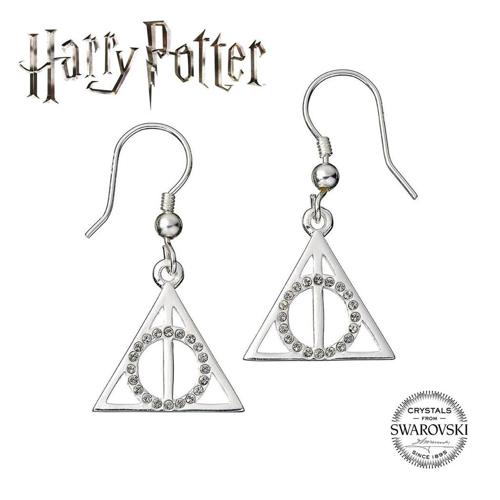 Swarovski Deathly Hallows Earrings