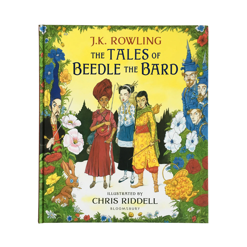 The Tales of Beedle the Bard Illustrated Edition