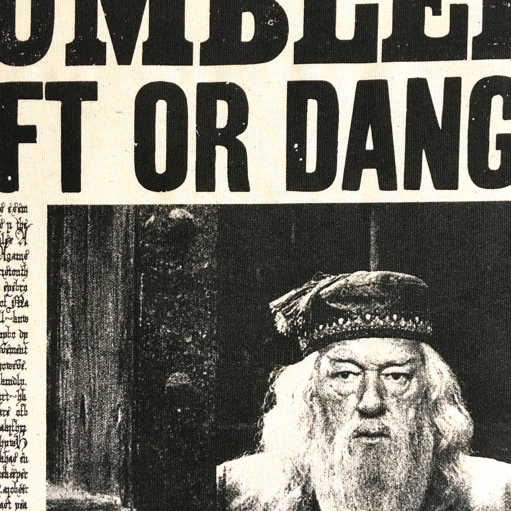 Dumbledore: Daft or Dangerous Tea Towel