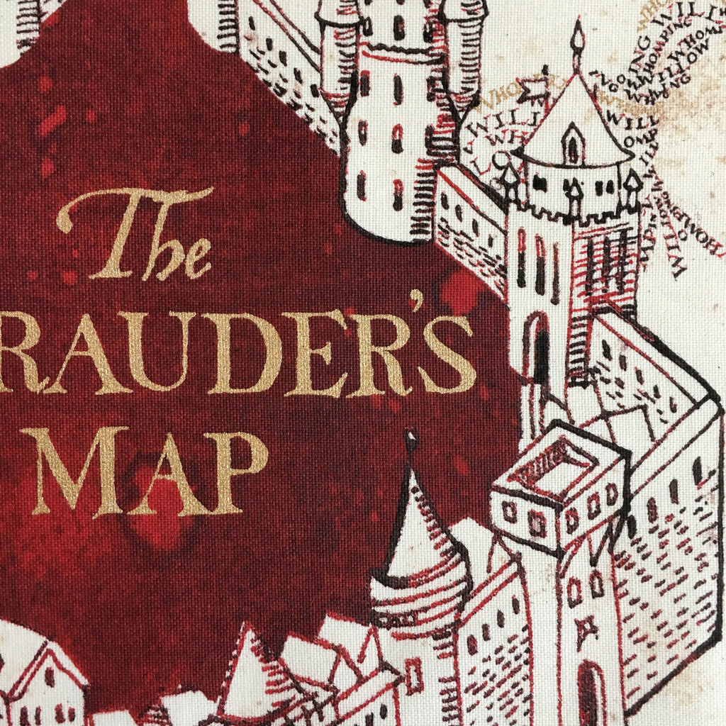 The Marauder's Map Tea Towel