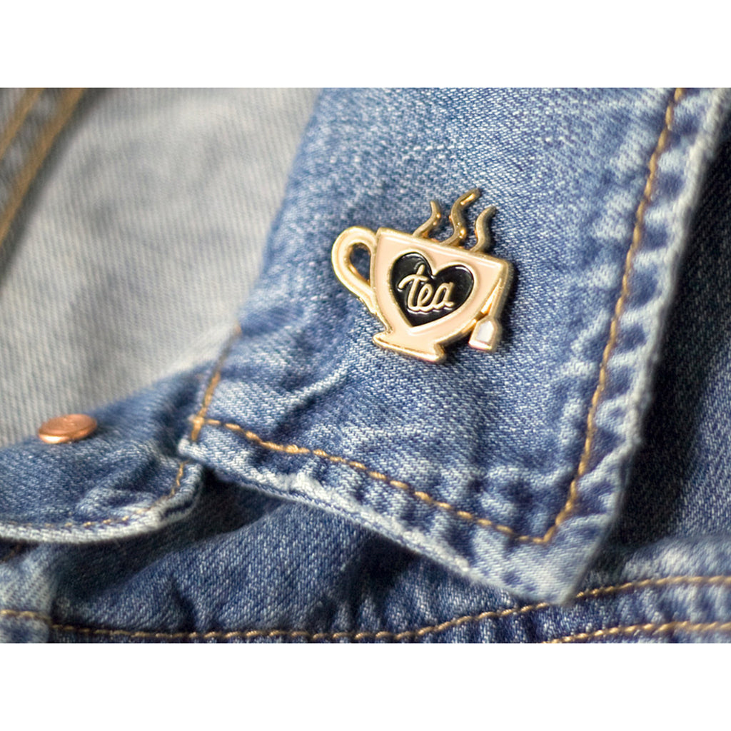 Tea Snob Enamel Pin