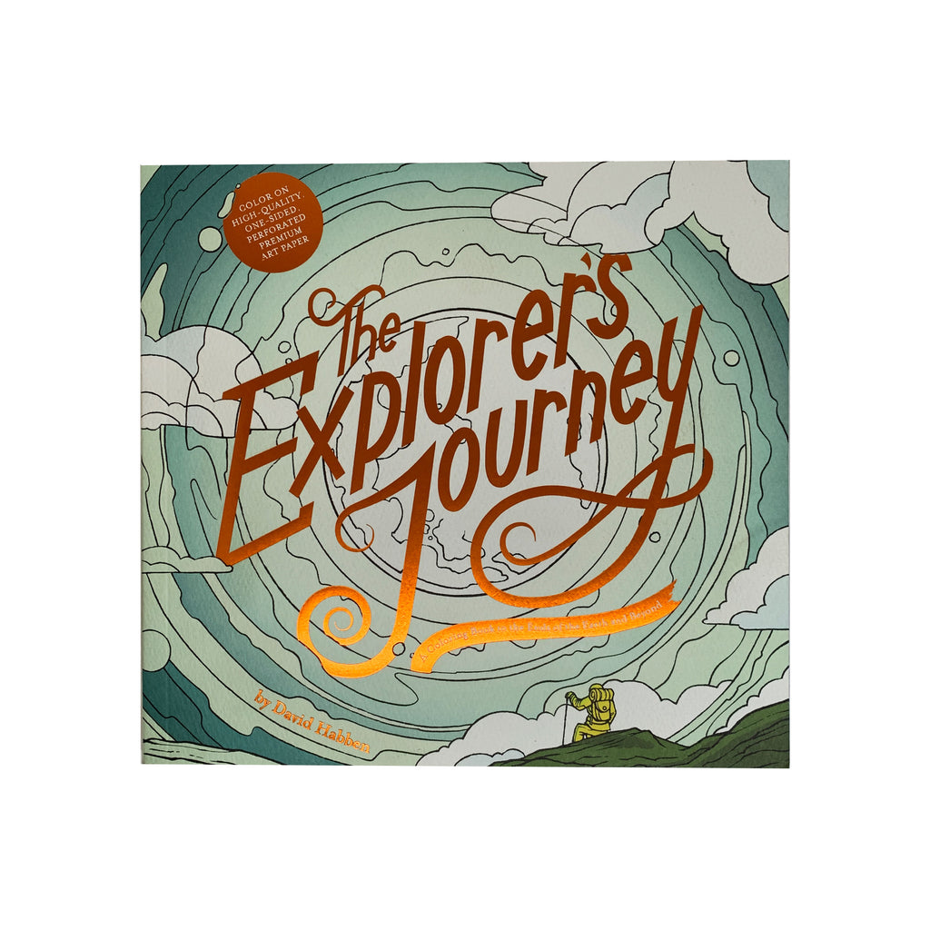 The Explorer's Journey Coloring Book