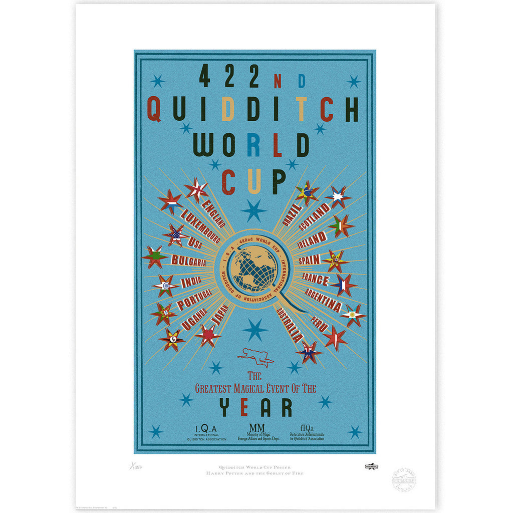 The 422nd Quidditch World Cup - Blue
