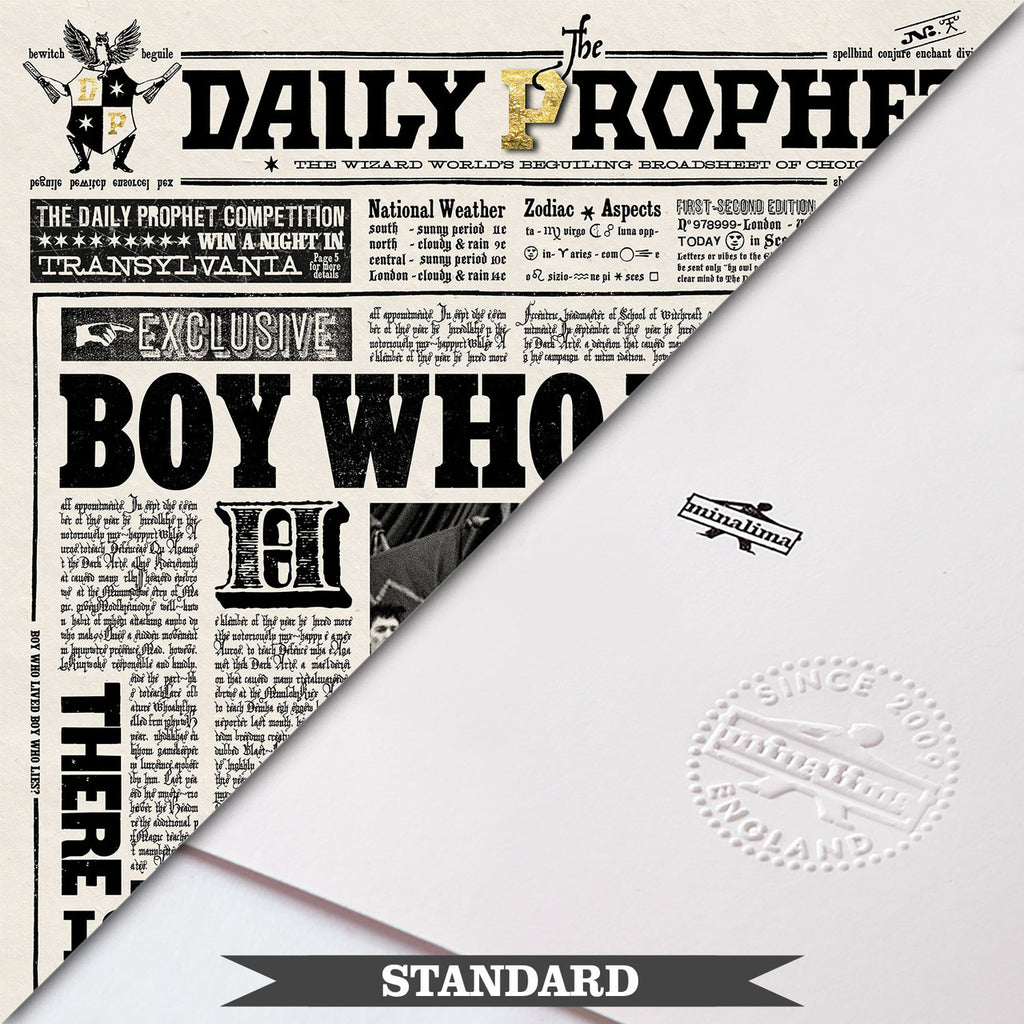 The Daily Prophet - Boy Who Lived