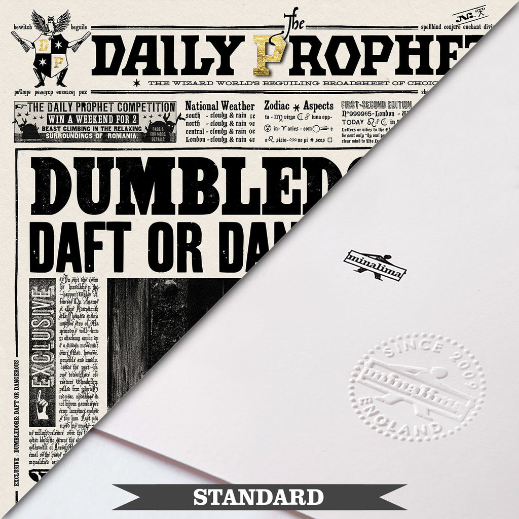 The Daily Prophet - Dumbledore: Daft or Dangerous?