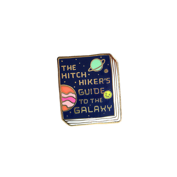 Book Pin - The Hitchhiker's Guide to the Galaxy