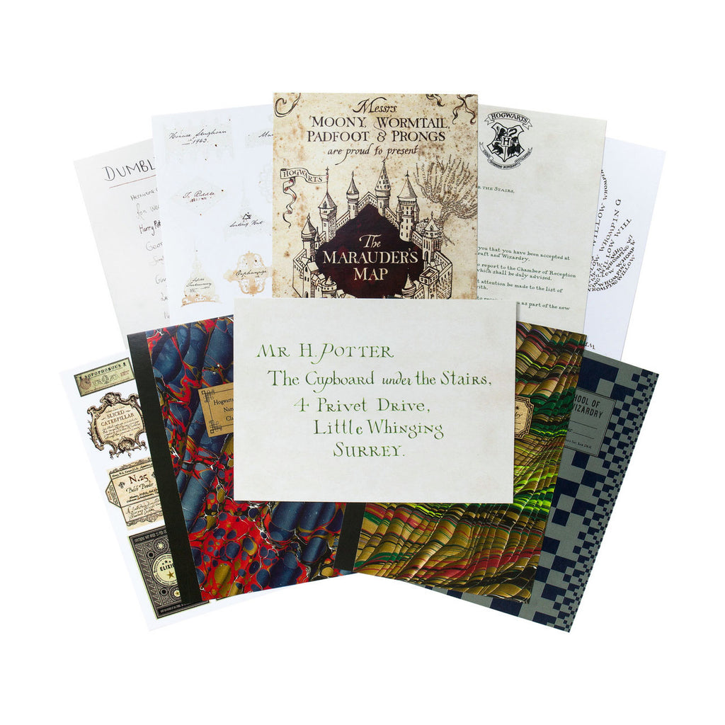 The Hogwarts Series Postcards