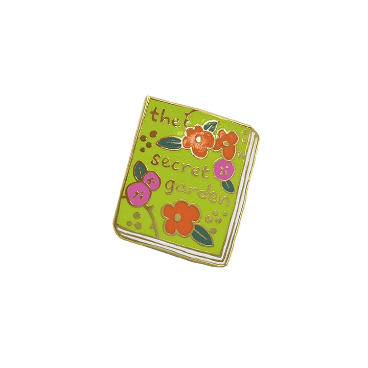 Book Pin - The Secret Garden
