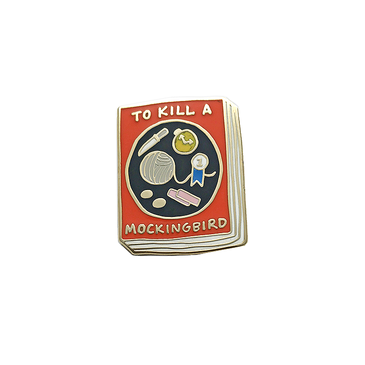Book Pin - To Kill a Mockingbird