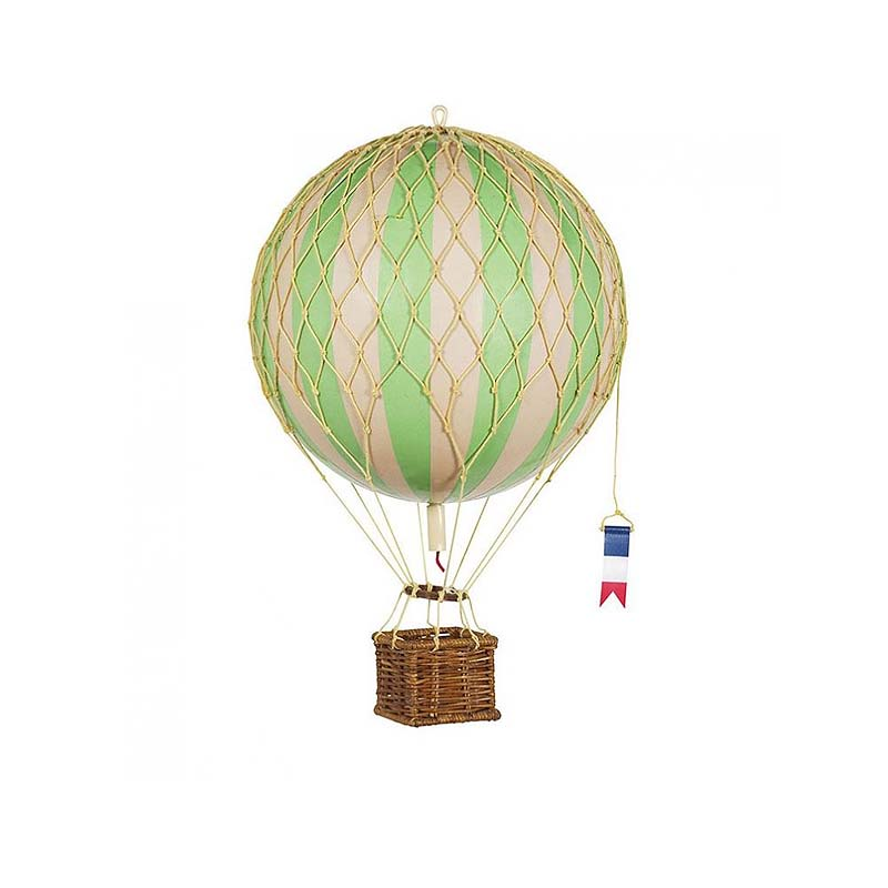 Travels Light  Hot Air Balloon - True Green