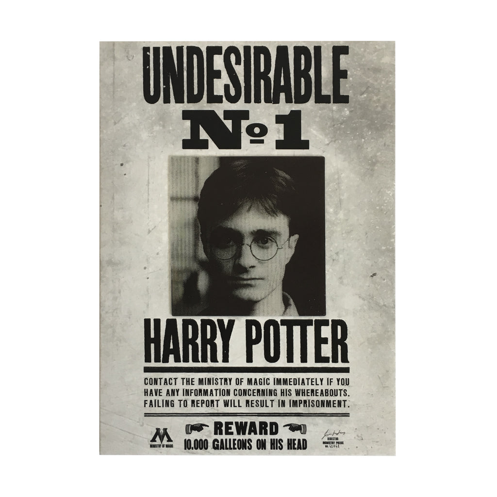 Undesirable No. 1 Poster Lenticular Notecard