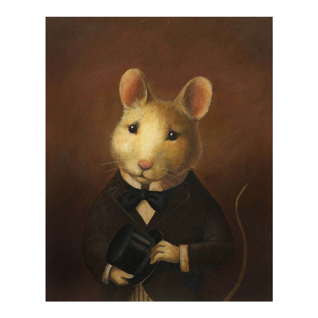 Curious Portraits - Victorian Mouse