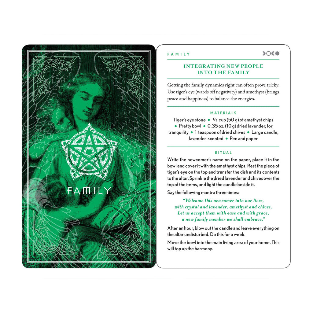 The Wiccapedia Spell Deck: A Compendium of 100 Spells and Rituals for the Modern-Day Witch