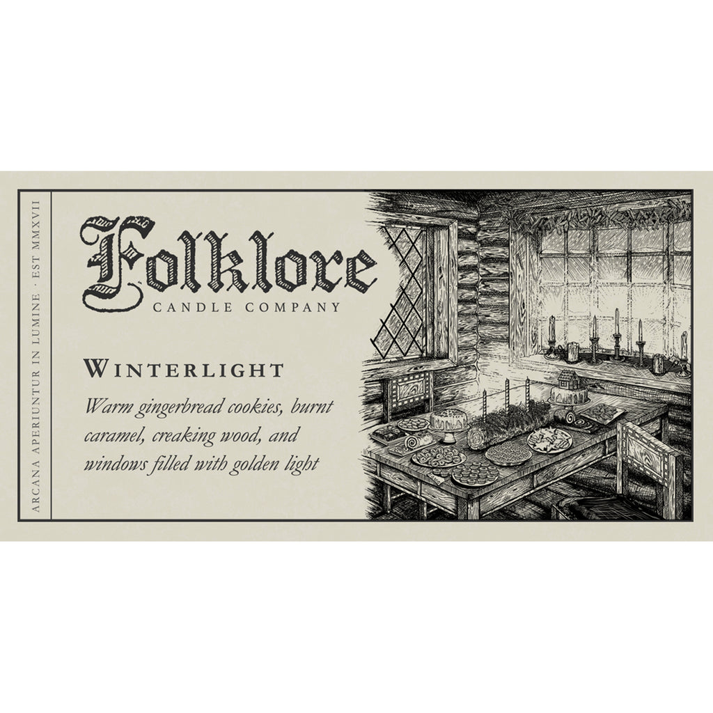 Winterlight - The Folklore Candle Company