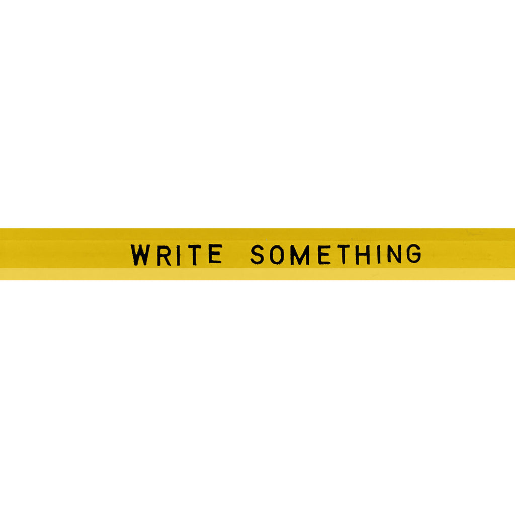 Pencil - Write Something