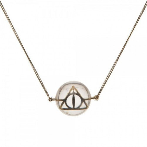 Deathly Hallows Acrylic Prophecy Necklace