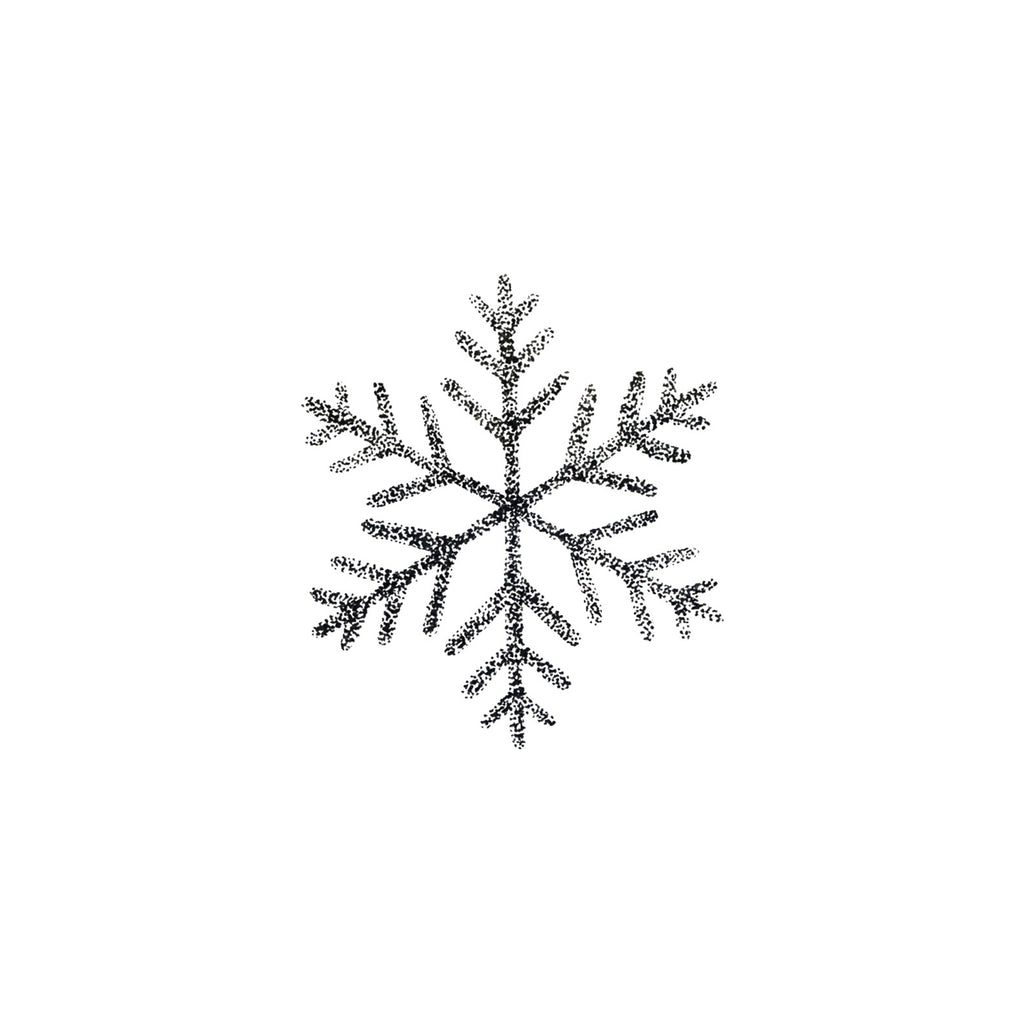 Snowflake Tattoos, set of 2