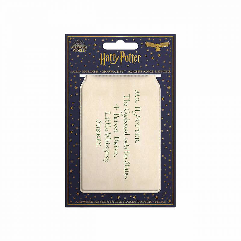 Hogwarts Acceptance Letter Card Holder