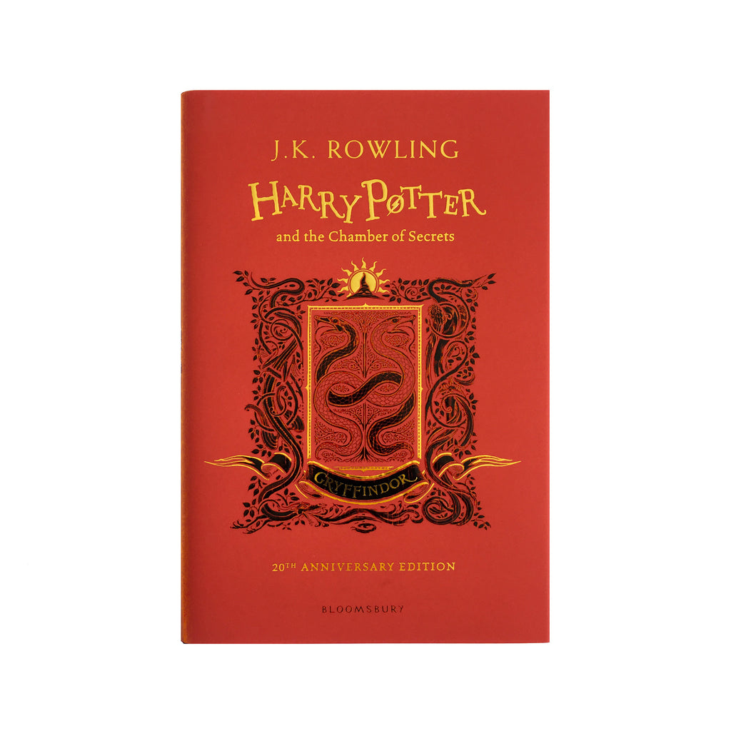Hardcover - Harry Potter and the Chamber of Secrets - House Edition - Gryffindor