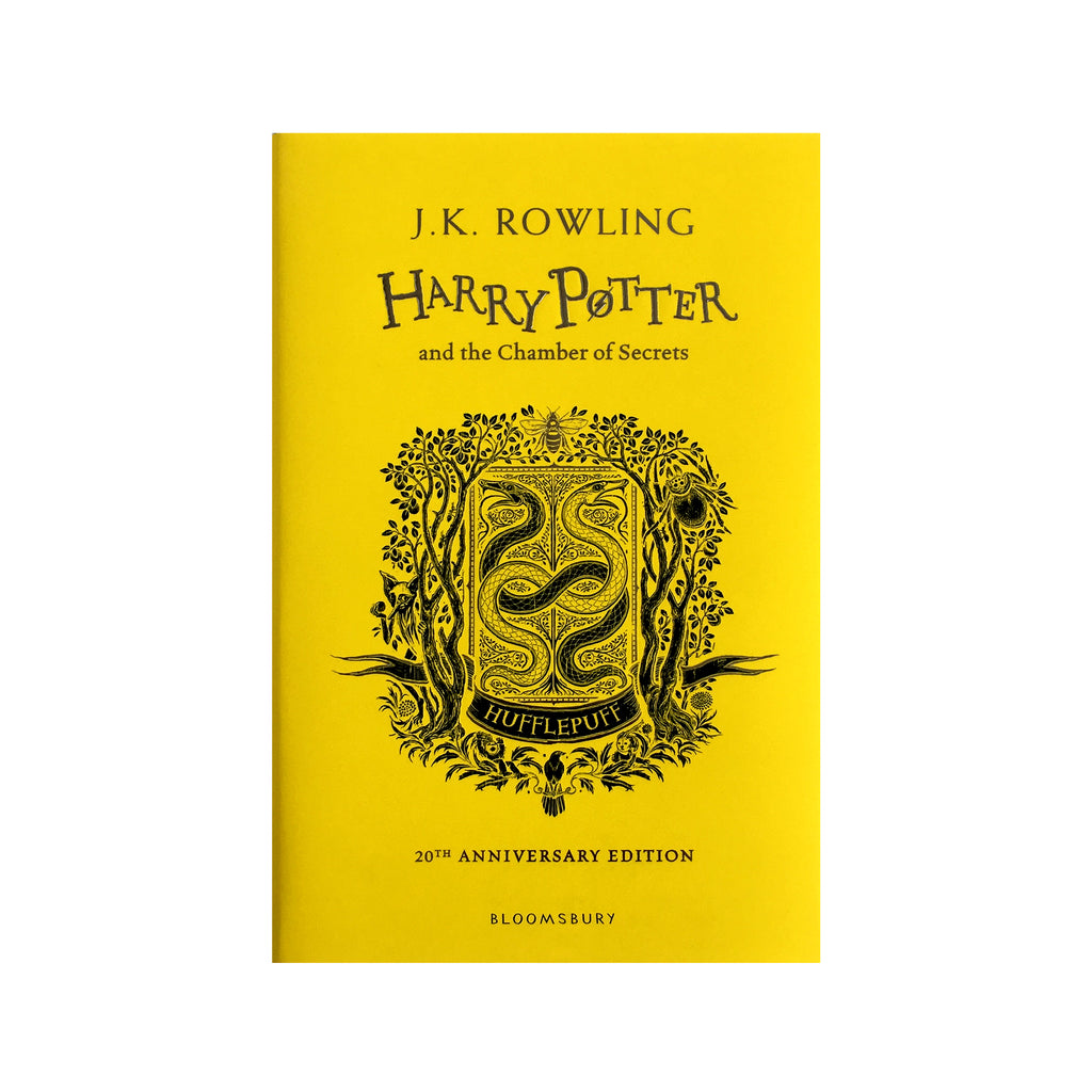 Hardcover - Harry Potter and the Chamber of Secrets - 20th Anniversary Ed. - Hufflepuff