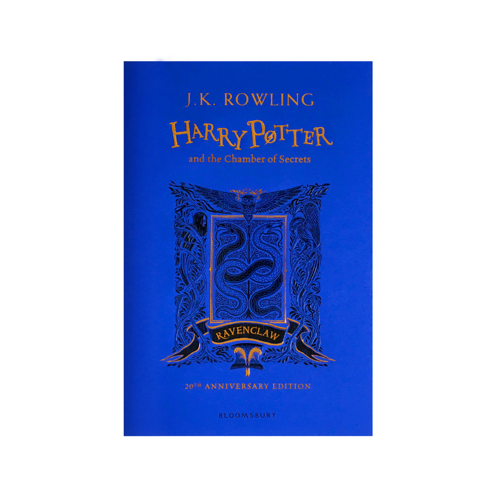 Hardcover - Harry Potter and the Chamber of Secrets - House Edition - Ravenclaw