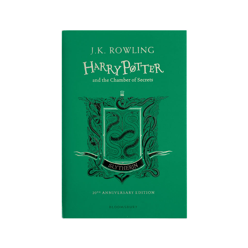 Hardcover - Harry Potter and the Chamber of Secrets - 20th Anniversary Ed. - Slytherin