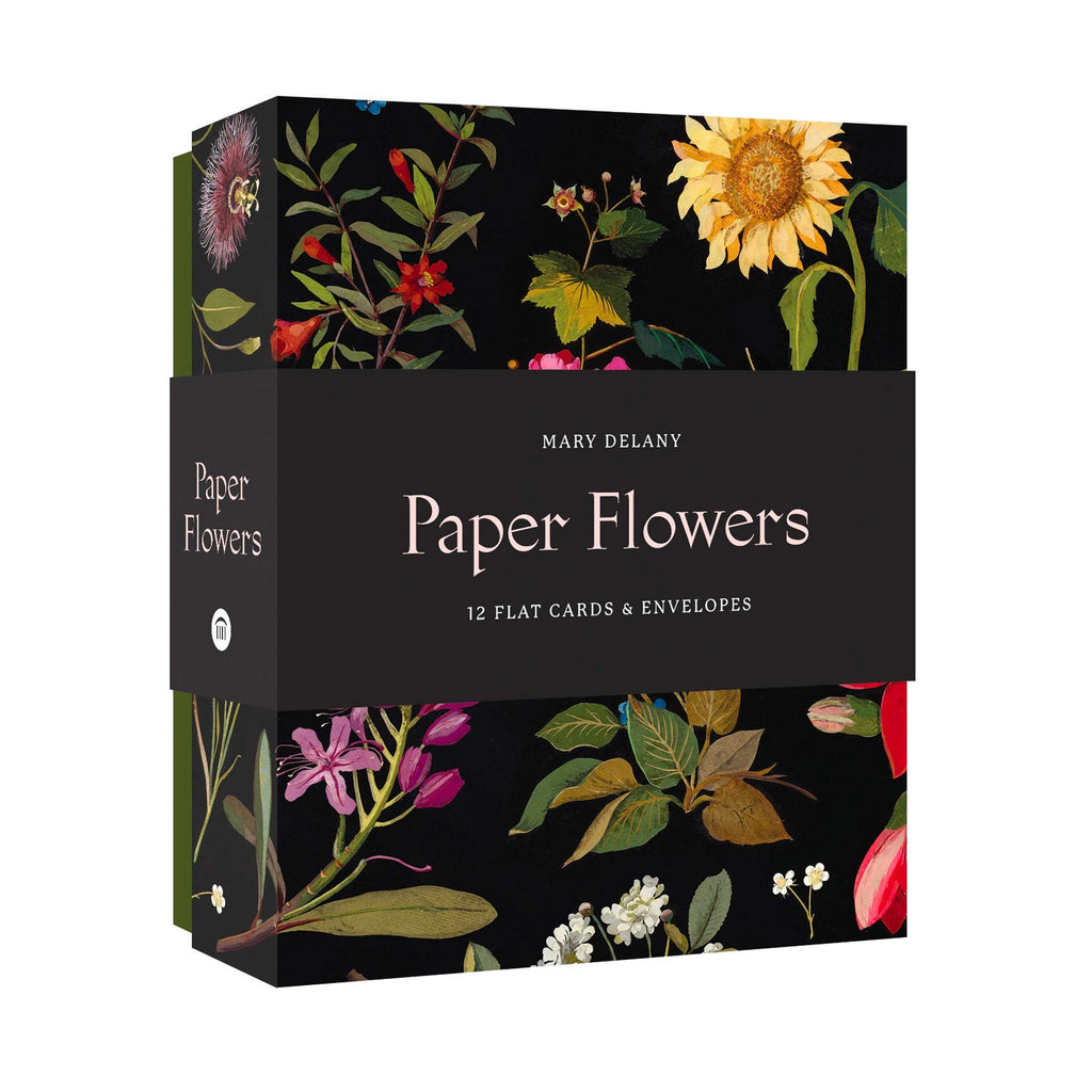 Paper Flowers Cards Set