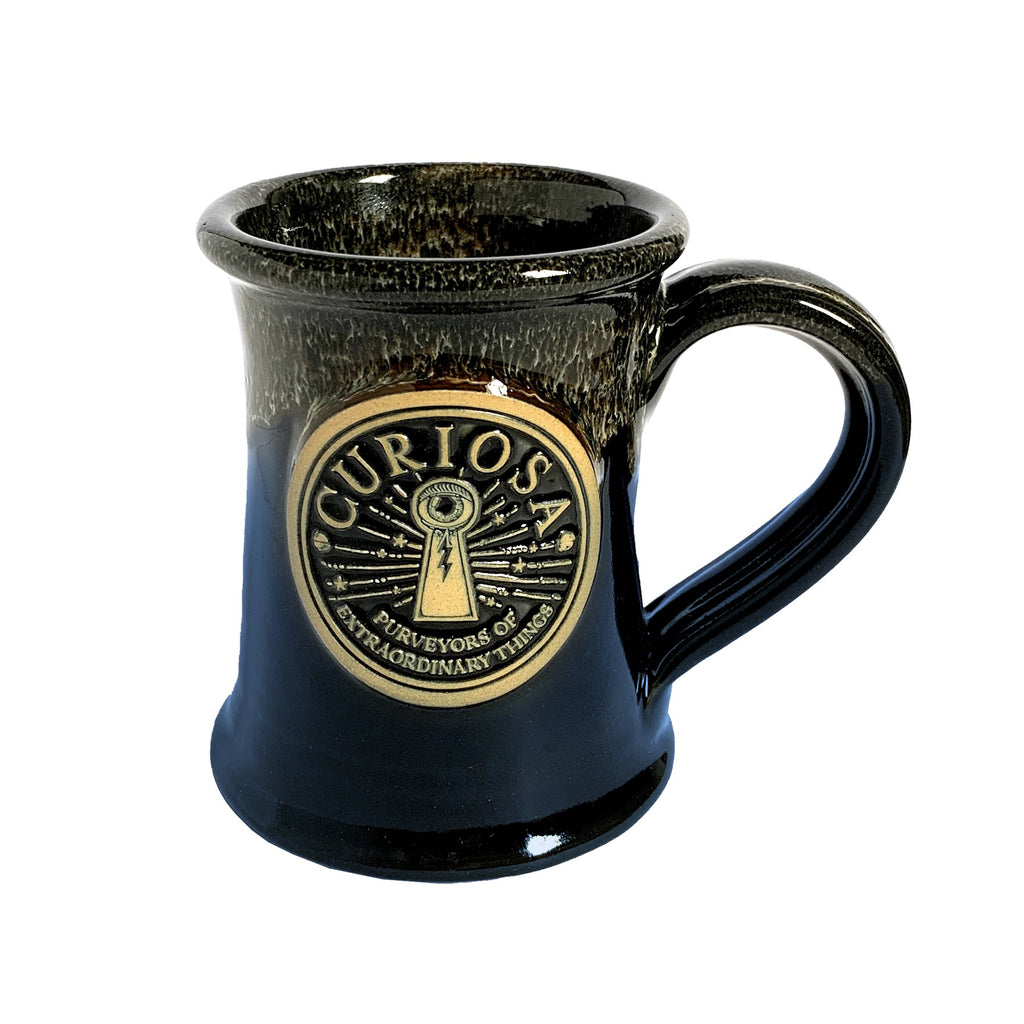 Curiosa Midnight Marbled Mug - Limited Edition