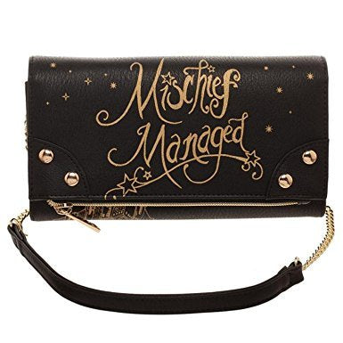 Mischief Managed Clutch Wallet