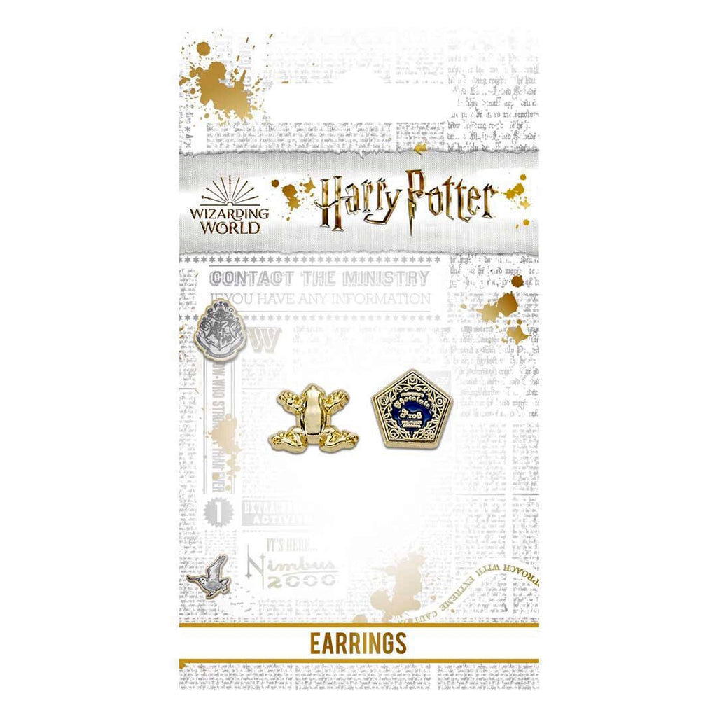 Chocolate Frog Earring Set