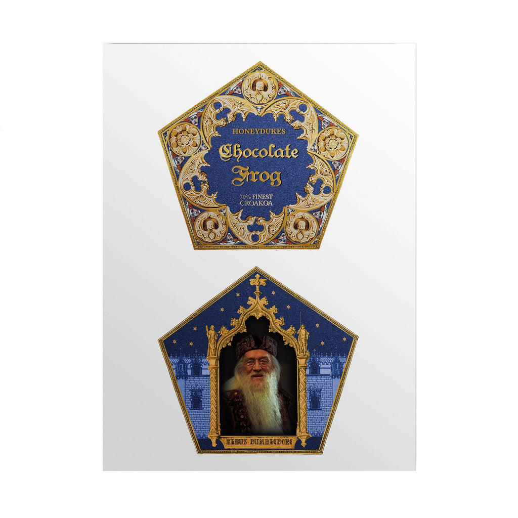 Chocolate Frog  Packaging Lenticular Notecard
