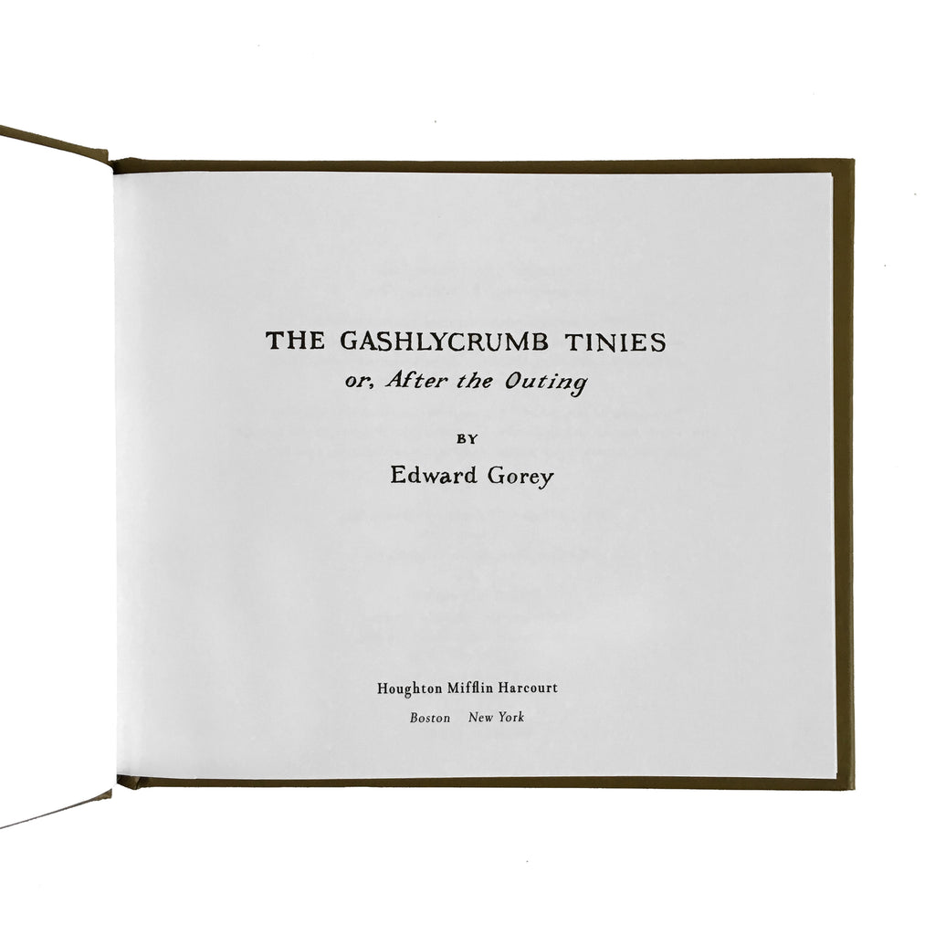 Edward Gorey - The Gashlycrumb Tinies