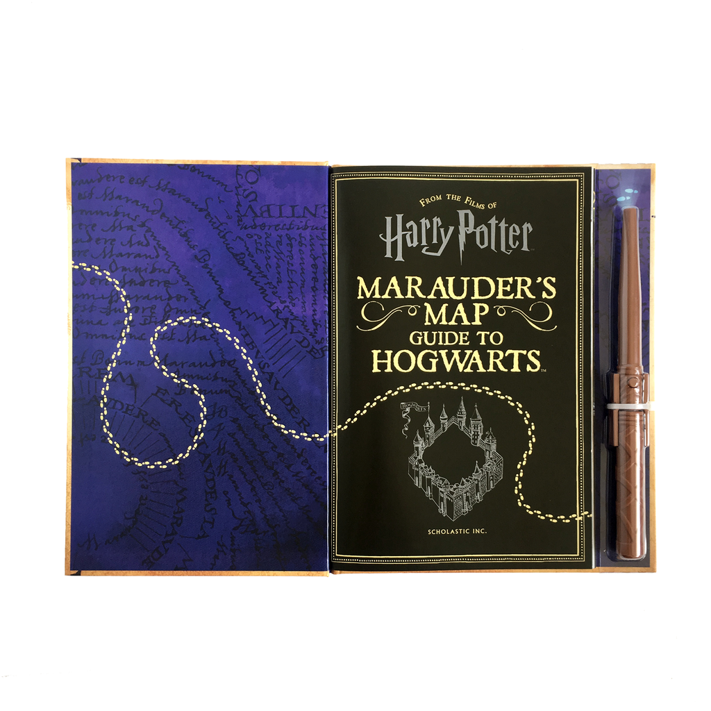 The Marauder's Map - Guide to Hogwarts