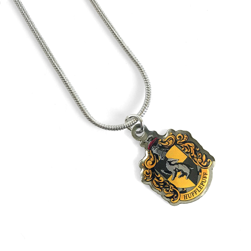 Hufflepuff Crest Necklace