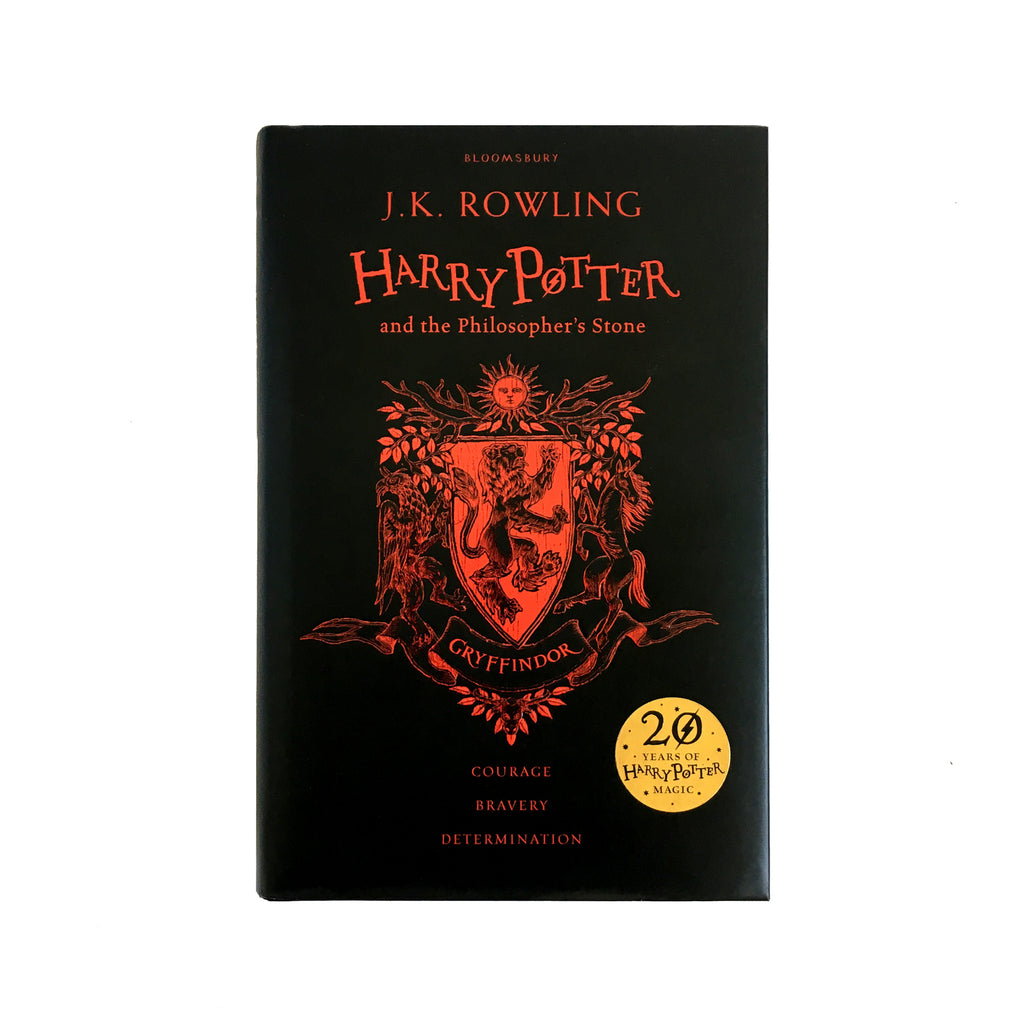 Hardcover - Harry Potter and the Philosopher's Stone - House Edition - Gryffindor