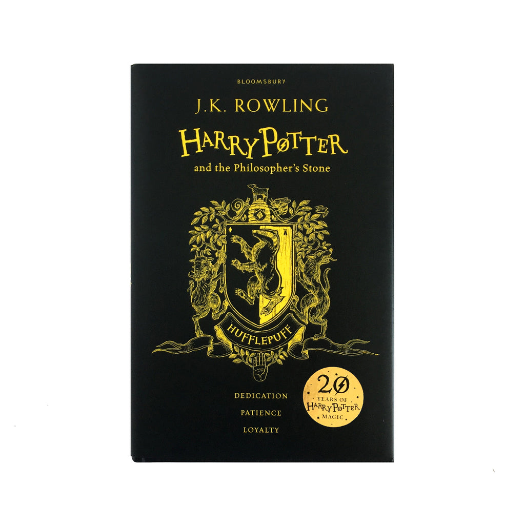 Hardcover - Harry Potter and the Philosopher's Stone - House Edition - Hufflepuff