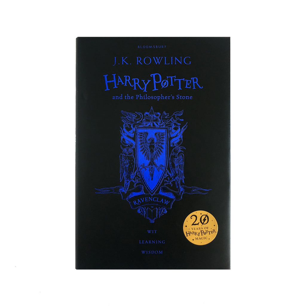 Hardcover - Harry Potter and the Philosopher's Stone - 20th Anniversary Ed. - Ravenclaw