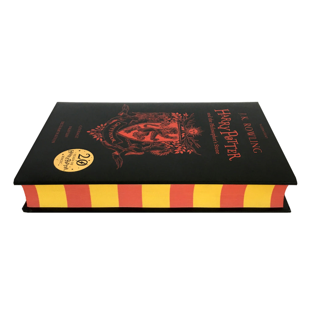 Hardcover - Harry Potter and the Philosopher's Stone - 20th Anniversary Ed. - Gryffindor