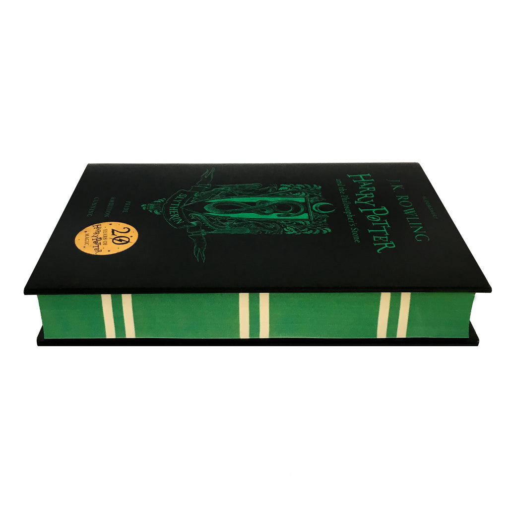 Hardcover - Harry Potter and the Philosopher's Stone - House Edition - Slytherin
