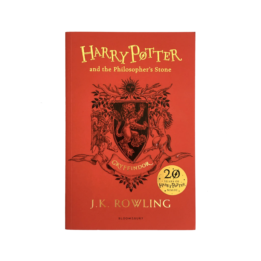 Harry Potter and the Philosopher's Stone - 20th Anniversary Ed. - Gryffindor