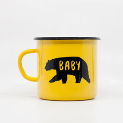 Enamel Mugs - Baby Bear Enamel Mug 400ml/13.5oz