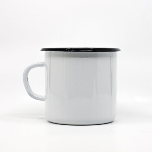 Enamel Mugs - Enamel Mug 400ml/13.5oz