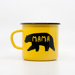Enamel Mugs - Mama Bear Enamel Mug 400ml/13.5oz