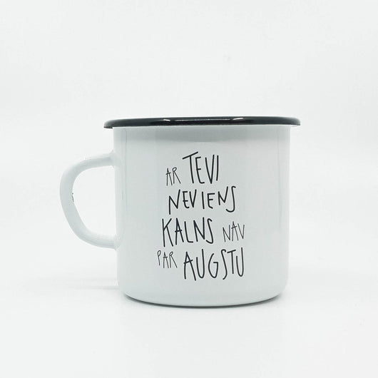 Ar Tevi enamel mug 400ml/13.5oz