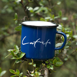 Latviete enamel mug 400ml/13.5oz