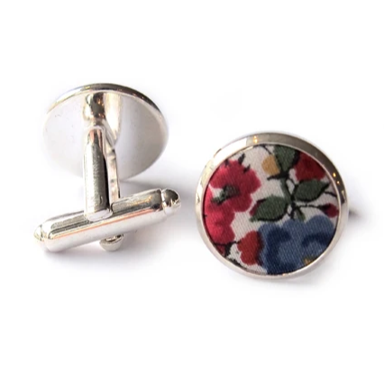 Boutons de manchette Liberty Saigon made in France