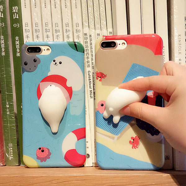Funny 3D Seal / Polar Bear Cases