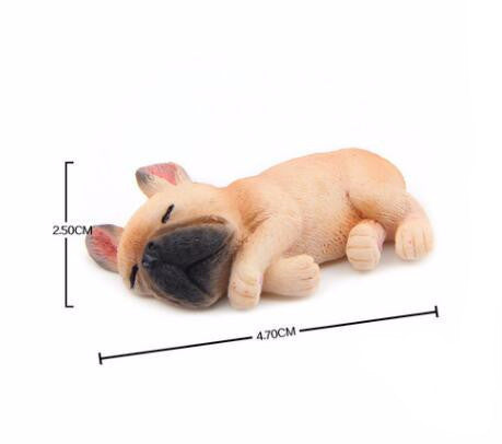 Sleeping Bulldog Mini Figurines
